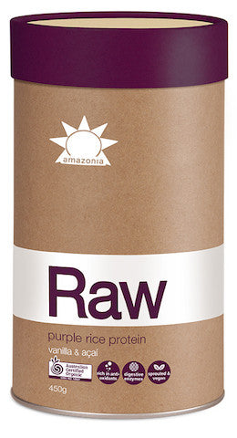 Amazonia Raw Purple Rice Protein Vanilla and Acai