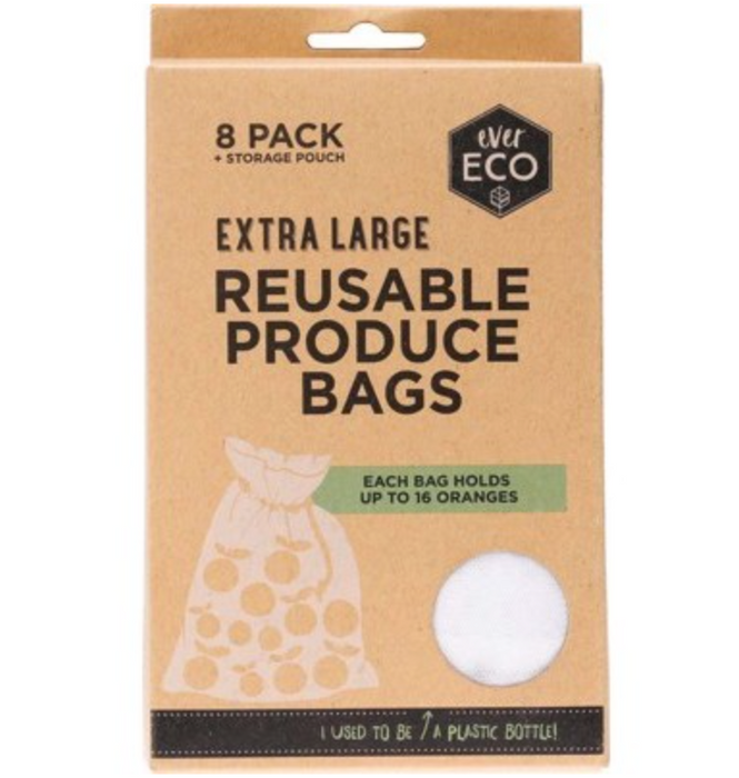 Ever Eco Reusable Produce Bags - 8 pack