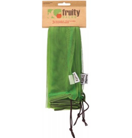 Fruity Sacks Reusable Produce Bags - 3 pack