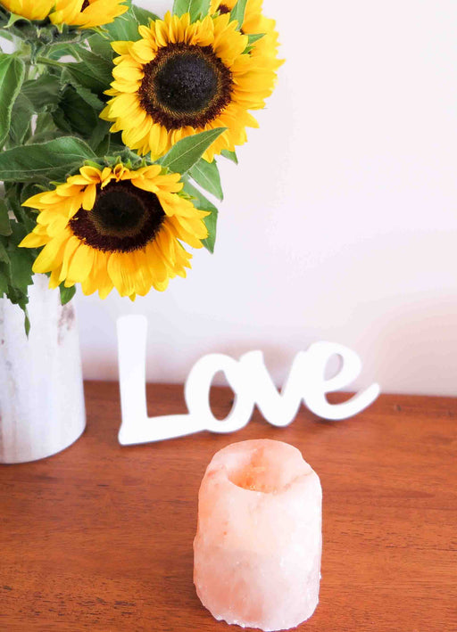 Himalayan Salt Tealight Candle Holder