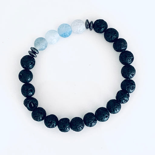 Lava Bead Bracelet (for essential oils)
