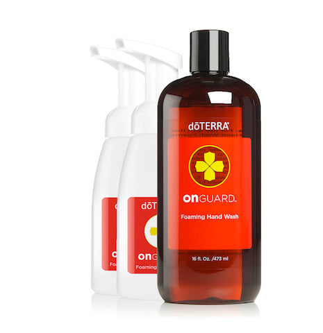 dōTERRA On Guard® Foaming Hand Wash with 2 Dispensers - 475ml