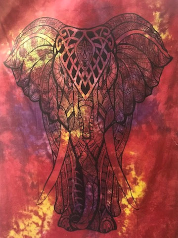 Chakra, Tree of Life, Elephant Throws/Wall Hangings