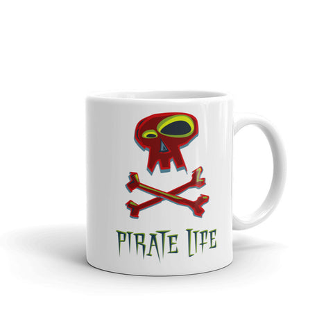 Pirate Life Mug - Red