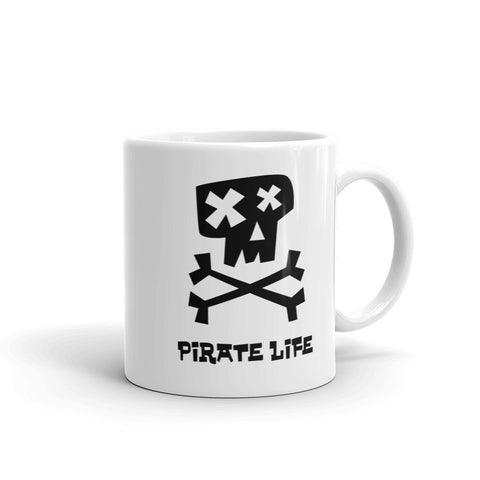 Dead Pirate Mug - Black