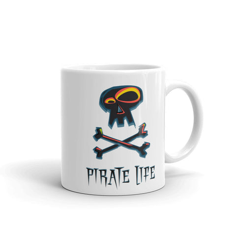 Pirate Life Mug - Black