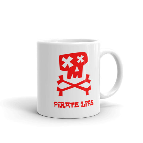 Dead Pirate Mug - Red