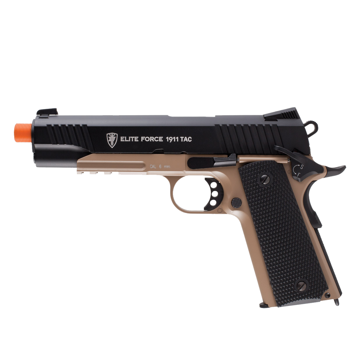 Elite Force 1911 TAC Co2 GBB Pistol Two Tone