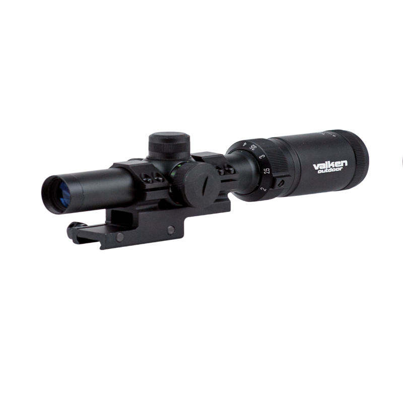Valken Tactical 1-4x20 Illuminated Short Dot Scope w/ Mount