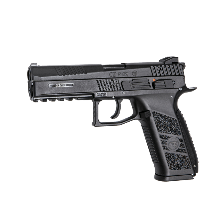 ASG CZ P-09 GBB Airsoft Pistol (C02) BLK
