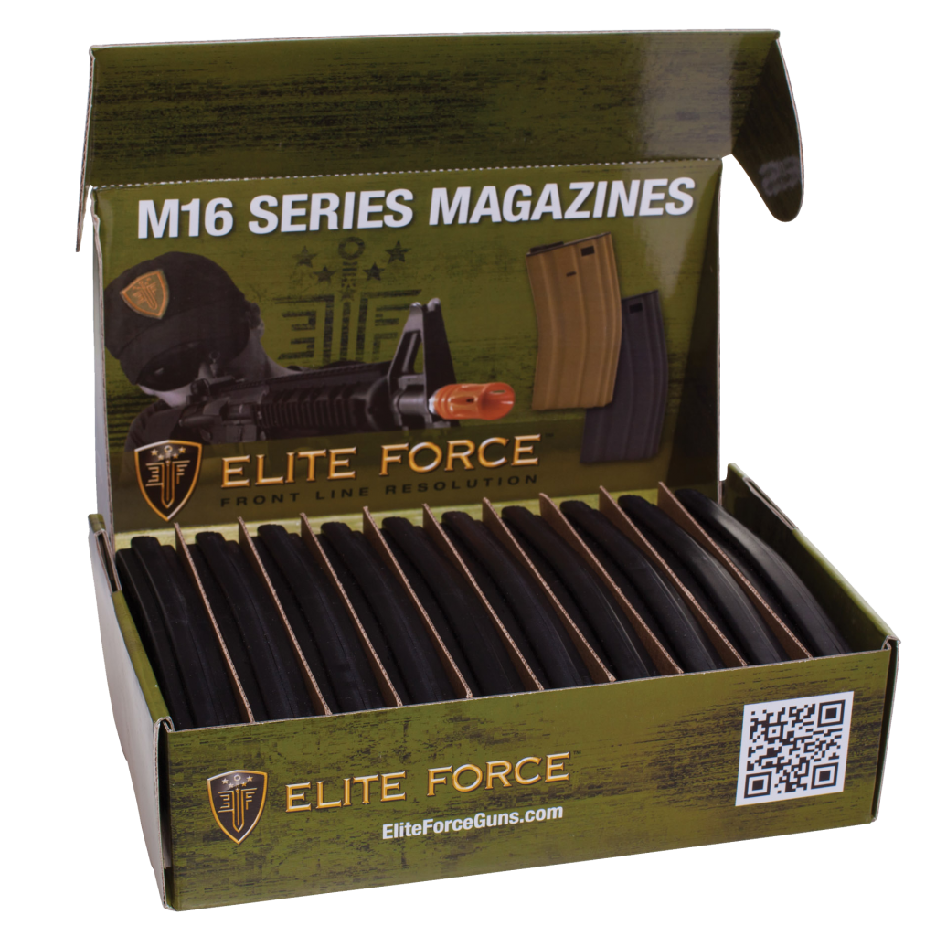 Elite Force 140rd Midcap for AEG M4/M16 (BLK)