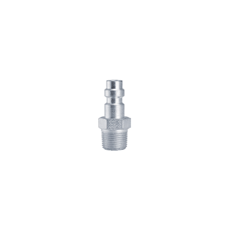 Foster Male QD Plug (1/8th NPT)