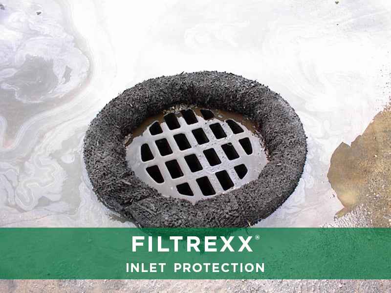 Filtrexx, Inlet Protection