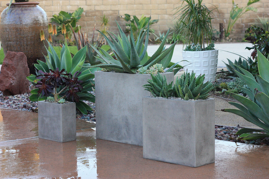 Giana Planter, Rectangle, LG
