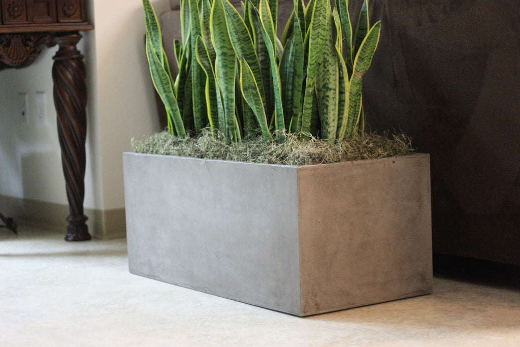 Casey Planter, Rectangle, LG