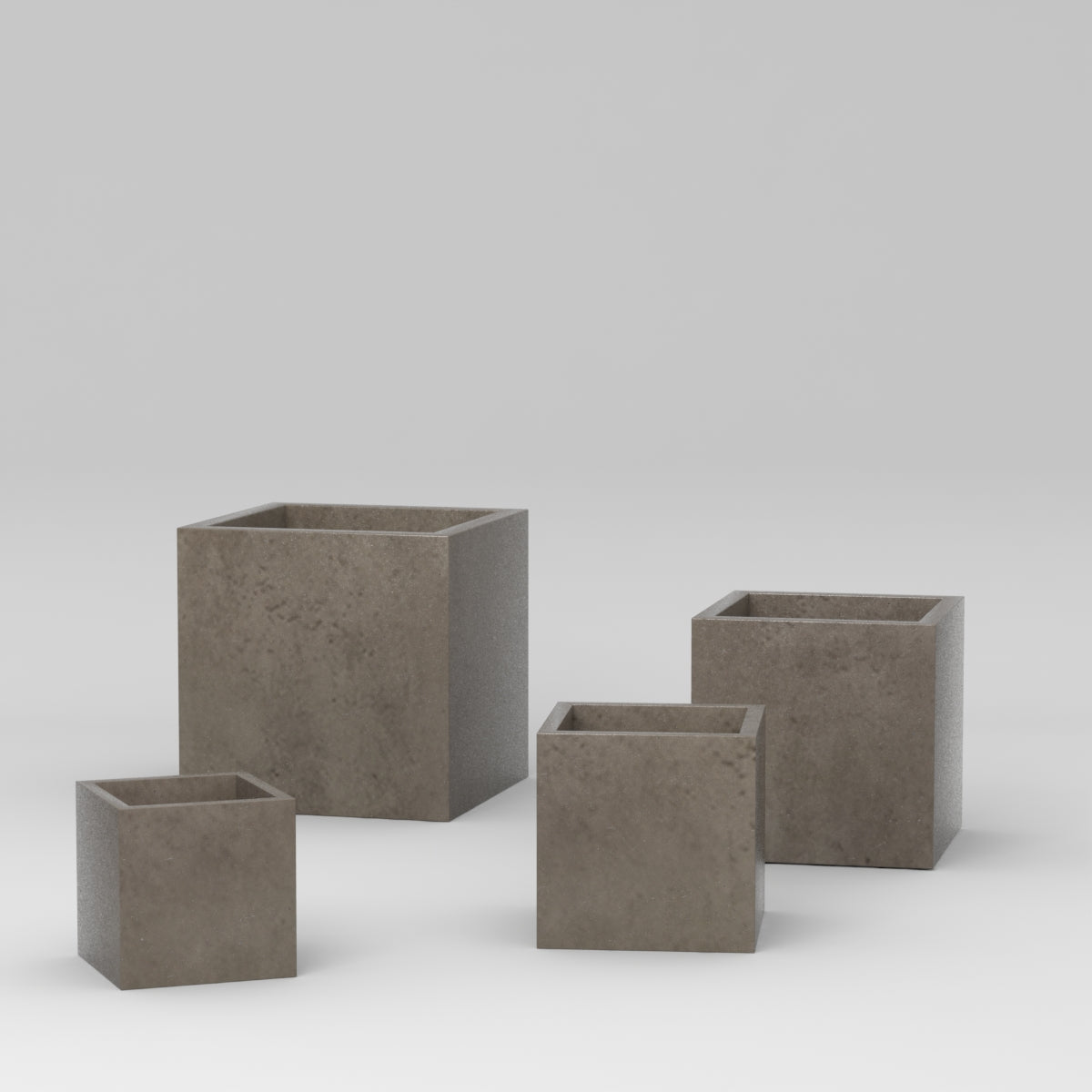 Ella Squares Planter, 12 sets