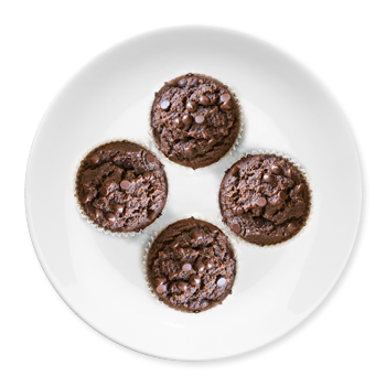 Sugar-Free Chocolate Muffins