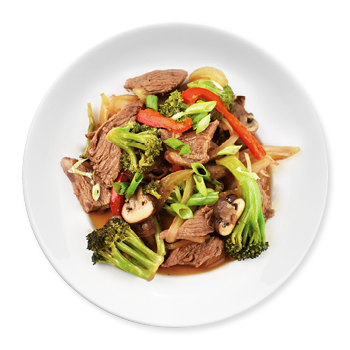Asian Broccoli & Beef