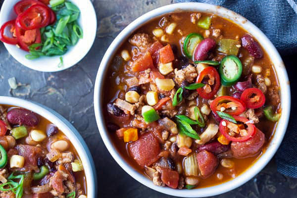 Three Bean Turkey Chili *NEW*