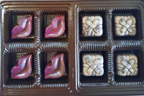 Handcrafted Milk Chocolate Bonbons