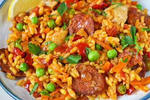 Chicken Sausage Paella