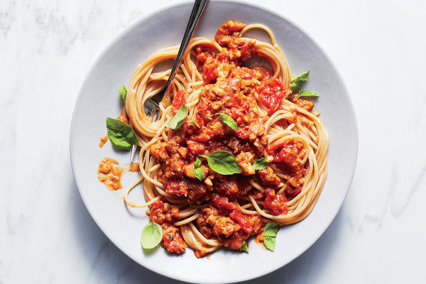 "Impossible ""Meat"" Bolognese"
