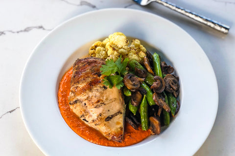 Keto Romesco Chicken