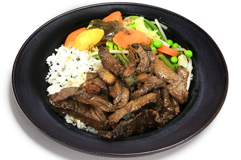 Korean Beef w/Sesame Rice