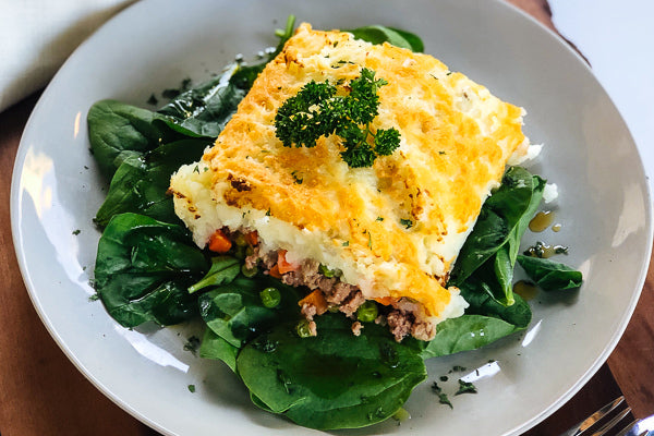 Lamb Shepherds Pie w/ Warm Green Salad *NEW* by Chef Luca