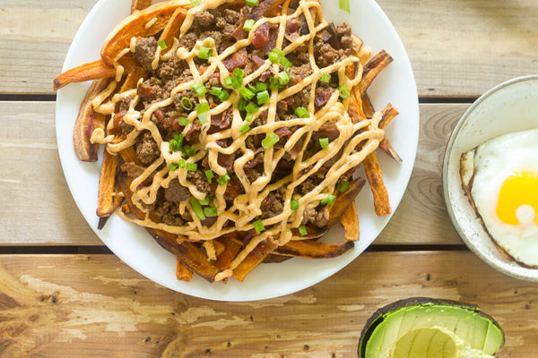 Sweet Potato Carne Asada Fries
