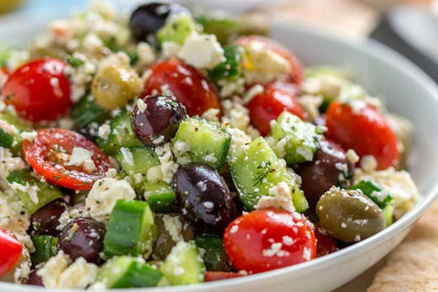 The Greek Salad Delight