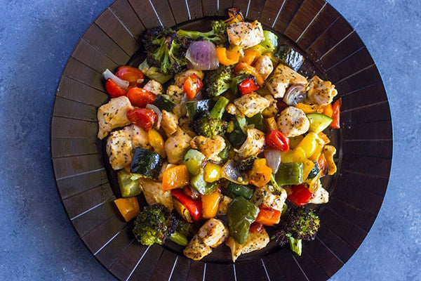 Chicken Rainbow Veggies