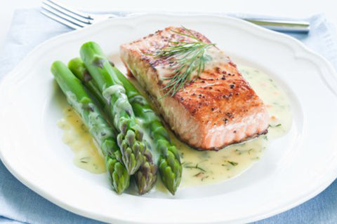 Keto Lemon & Butter Salmon