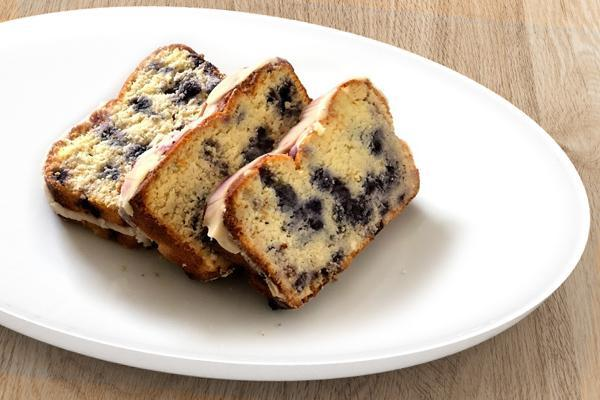 Keto Blueberry Lemon Keto Cake (3 slices)