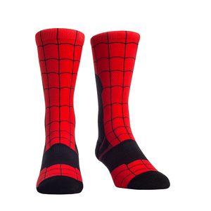 Rock Em Elite Spidey Super Hero Crew Socks