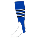 TCK Baseball Stirrups Large (300D, 7in) Royal, White, Black