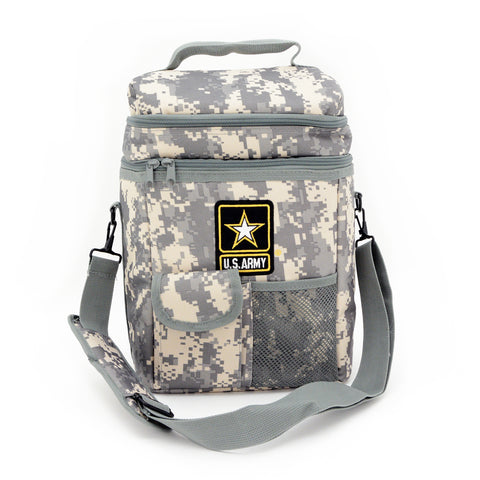 Official Licensed U.S. Army 12-Pack Camo Soft Cooler
