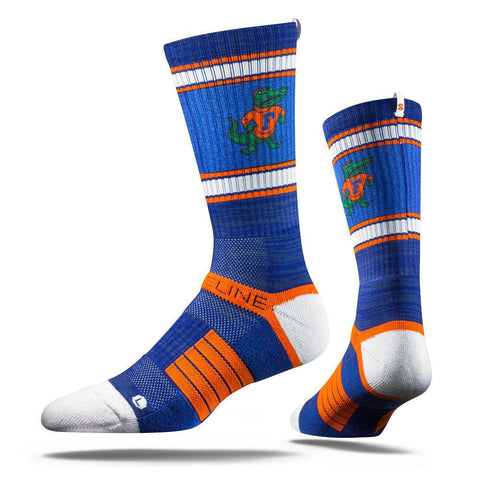 Premium College Football and Basketball Officially Licensed NCAA Athletic Fan Socks. Size Mens 5-13 The Most Comfortable Sock on Earth Worn by Elite Players in The NFL, NBA, and MLB. From STRIDE.