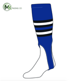 TCK Baseball Stirrups Medium (200I, 7in) Royal, Black, White