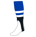 TCK Baseball Stirrups Medium (200G, 7in) Royal, White, Black