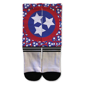 Legends Sock Company Tennessee Stars Crew Socks