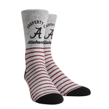 Rock Em Alabama Crimson Tide - Property Heather Crew - LXL (9-13)