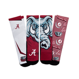 Rock Em Alabama Crimson Tide - Super Fan 3-Pack NCAA Licensed Crew