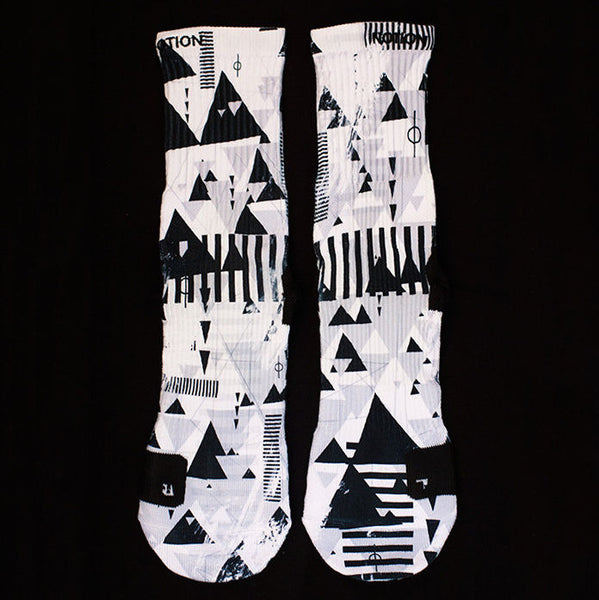 NOTION Elite STAR WARS - Storm Trooper 3D Printed Basketball Crew Socks