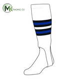 TCK Baseball Stirrups Medium (200I, 5in) White, Black, Royal