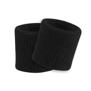 "TCK Sports 3.5"" Wristbands (1-pair), Terry Soft Knit, Basketball, Football"