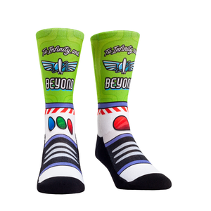 Rock Em Elite Theme Park: Space Ranger Crew Socks