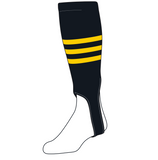 TCK Baseball Stirrups Medium (200B, 5in) Black, Gold