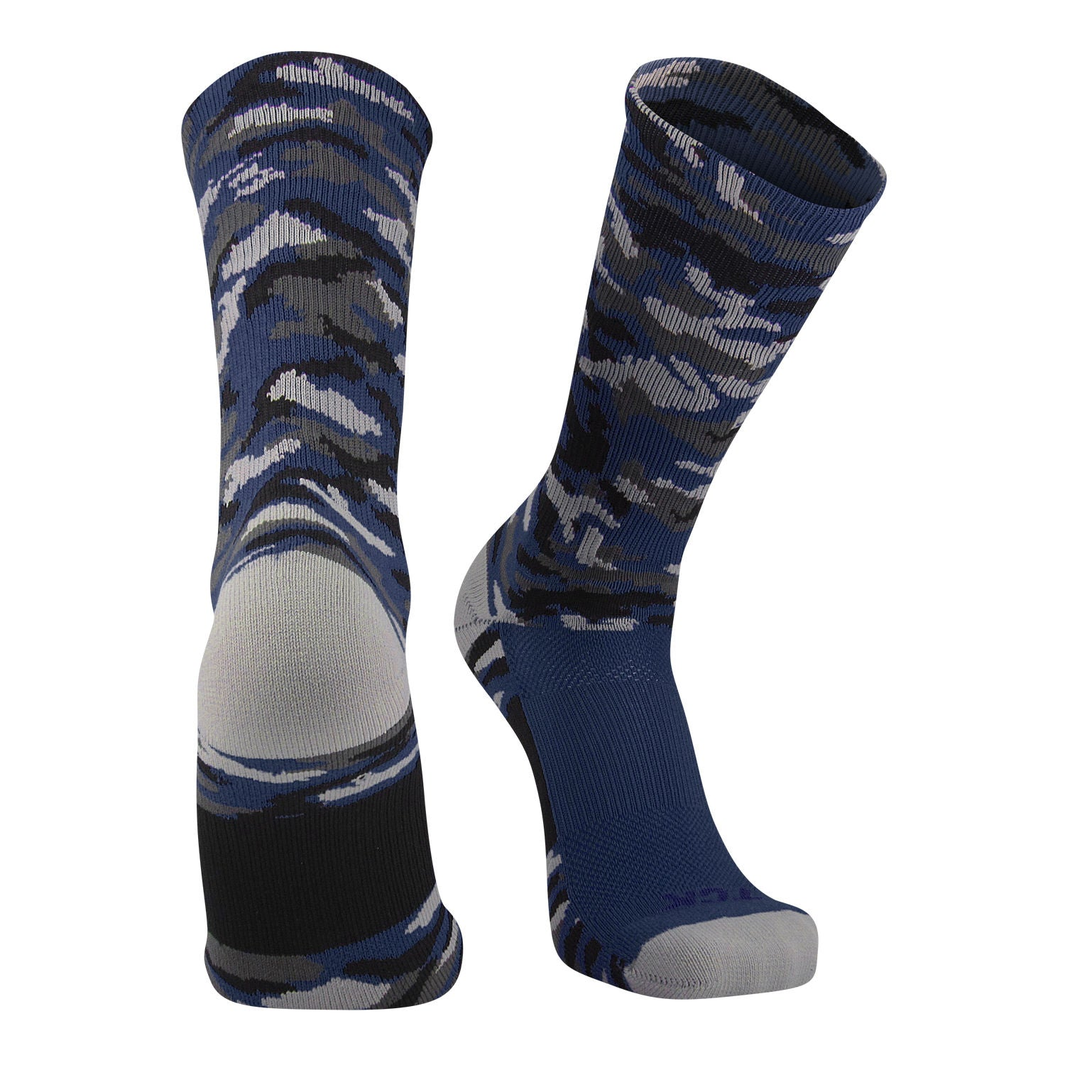 TCK Woodland Camo Elite Basketball Football Lacrosse proDRI Crew Socks