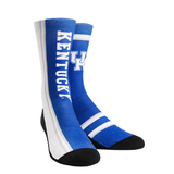 Rock Em Elite Kentucky Wildcats NCAA Licensed Jersey Crew Socks